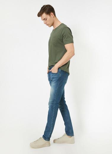 Koton Jean Pantolon Yeşil